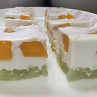 芒果椰汁西米糕的做法图解7