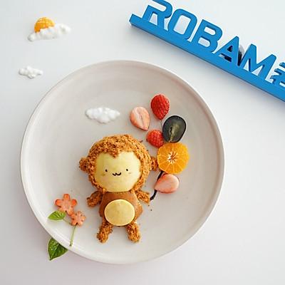 猴开心蜂蜜小蛋糕老板电器烤箱R026试用