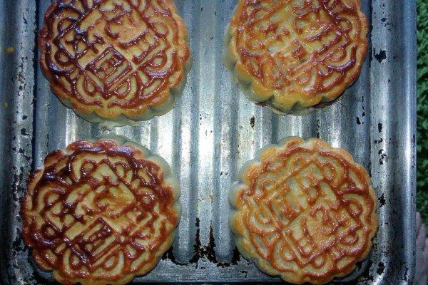广式月饼家庭制作的做法图片