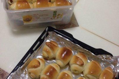 一口热狗包/香肠包(18L烤箱,两盘份量)