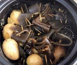 卤海带海鸭蛋的做法