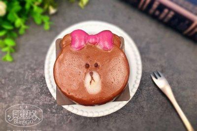 【美食魔法】布朗熊&Choco妹妹冰皮月饼