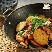干锅土豆片的做法图解11