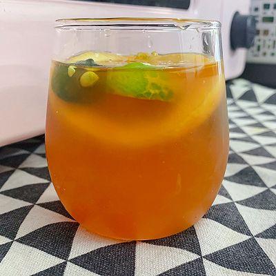 青桔柠檬红茶,夏天必备饮品