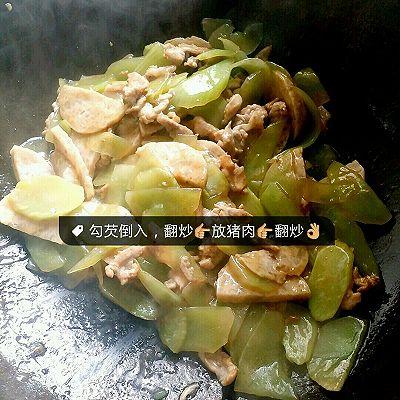 莴笋肉饼炒猪肉的做法 步骤9