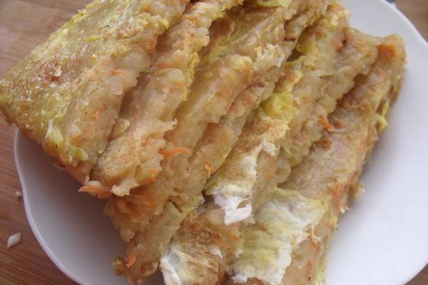 土豆鸡蛋饼的做法