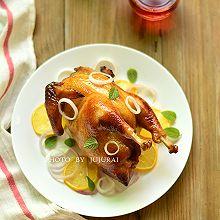 柠香烤全鸡
