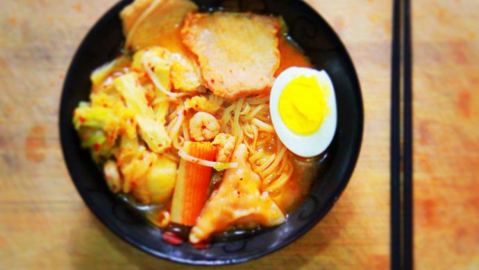 韩式泡菜火锅面