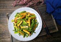 蒜苔炒香干的做法