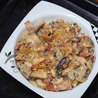 #助力高考营养餐#培根芝士焗口蘑的做法图解5