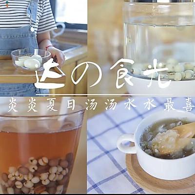 炎炎夏日喝了就会变美的汤汤水水