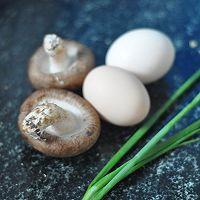 香菇煎蛋——早餐的做法图解1