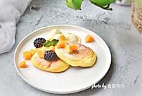 平底锅松饼,没有烤箱也可以做甜品的做法