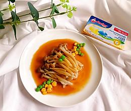 清淡可口『浇汁蟹味菇』|浣熊日记的做法
