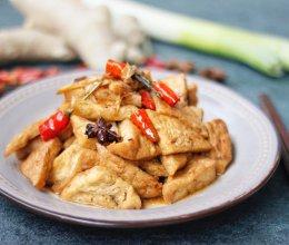 #就是红烧吃不腻!#红烧三角豆腐的做法