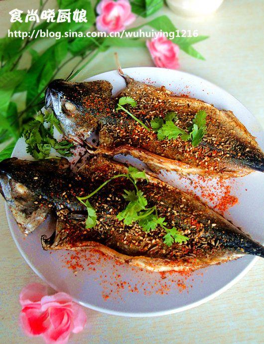 家庭秘制烤鱼的做法