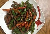 小尖椒炒牛肉的做法