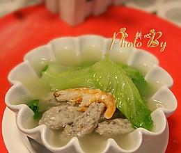 鲮鱼滑生菜汤的做法