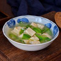 虾皮丝瓜豆腐汤的做法图解9