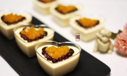 香甜的味道:黄桃慕斯的做法