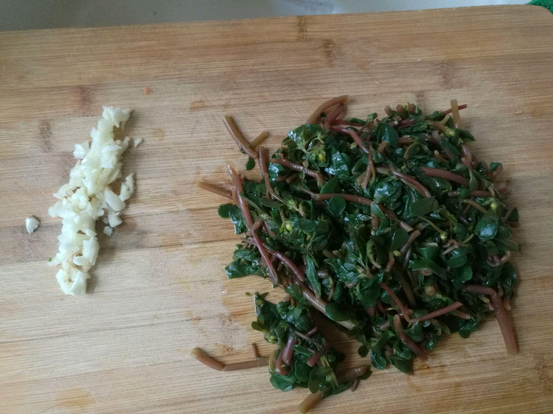 蒜炒蚂蚱菜的做法步骤