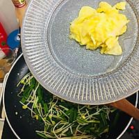 韭菜豆芽炒面的做法图解5