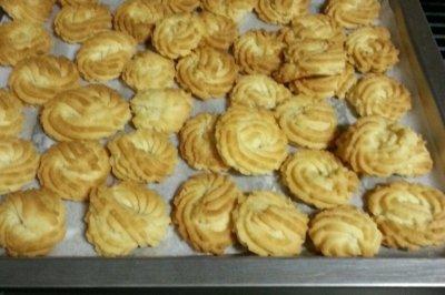 第一次做黄油曲奇饼干