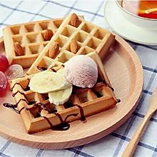·华夫饼·暖暖的下午茶