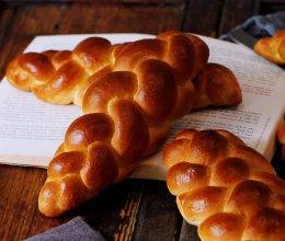 布里欧修辫子面包(4股辫)的做法