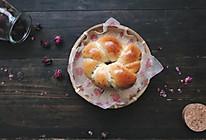 玫瑰牛奶面包的做法