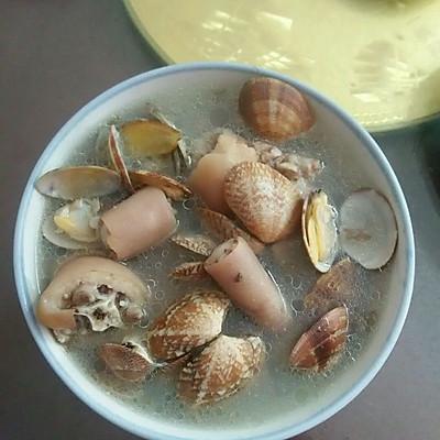 猪尾巴花蛤汤