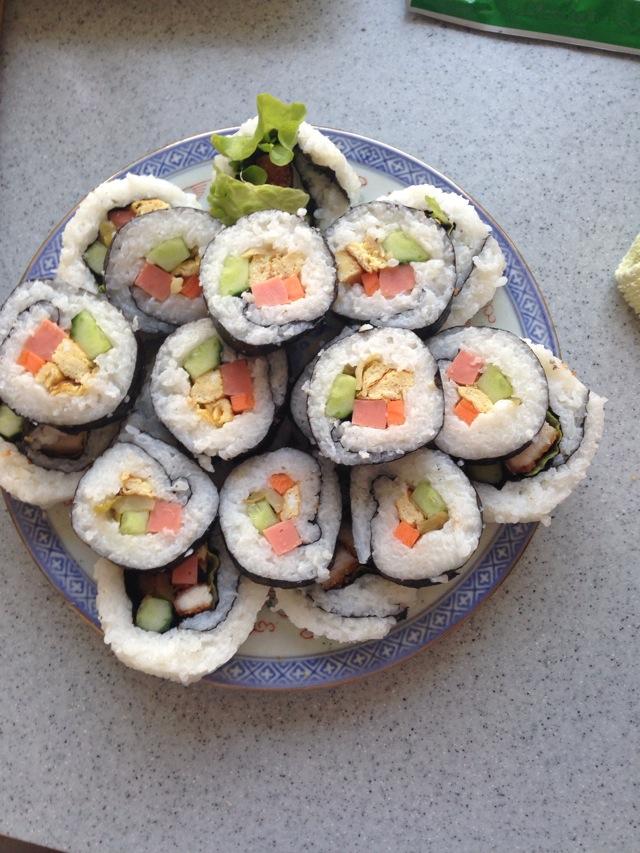 猪排寿司卷的做法_【图解】猪排寿司卷怎么做如何做