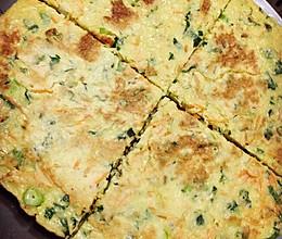 蔬菜蛋饼的做法