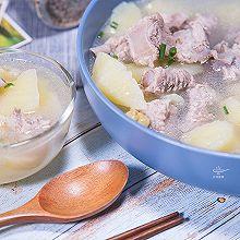 超好喝的排骨土豆莲子汤