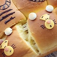跳跳虎卡通挤挤面包的做法图解15