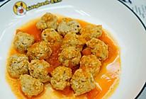 番茄汁猪肉丸的做法