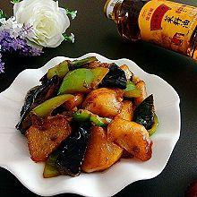 东北地三鲜#金龙鱼外婆乡小榨菜籽油最强家乡菜#