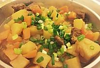 土豆咖喱牛肉的做法