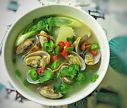 鲜的不行的花蛤汤的做法