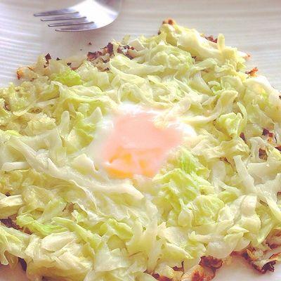 减脂早餐-卷心菜烘蛋