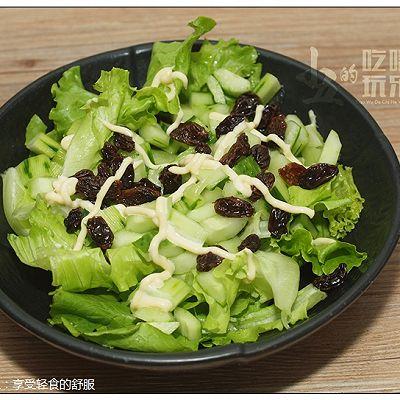 生菜沙拉:享受轻食的舒服时光