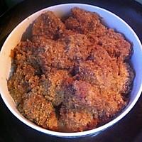 Fermented bean curd steamed spareribs with rice flour approach