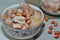 下奶汤系列之花生猪蹄汤的做法