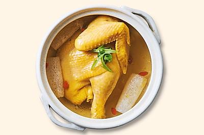 《爱妻美食》竹荪枸杞煲鸡汤