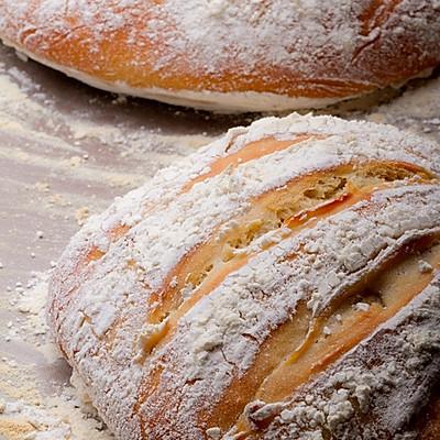 5分钟免揉欧式面包