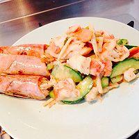 蒸大虾沙拉(大长今剧中料理改良)的做法图解8