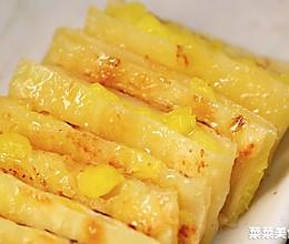 菠萝飞饼 | 在家用平底锅就能做的小吃的做法