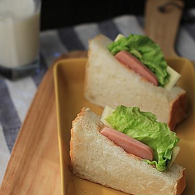【火腿口袋三明治】——吐司最爽的吃法