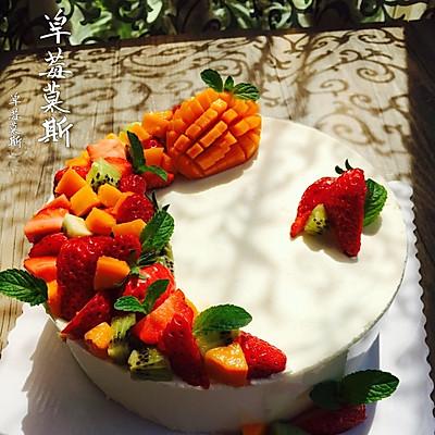 草莓慕斯(8寸)