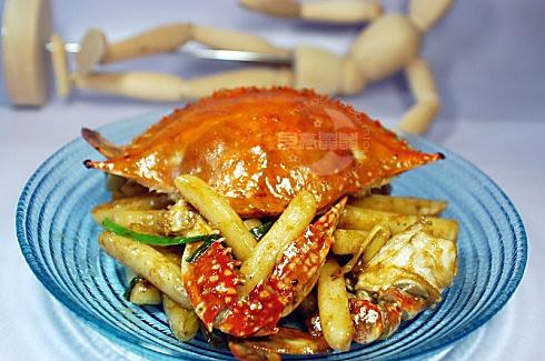 梭子蟹炒年糕 - 大头安兰 - 大头安兰的博客